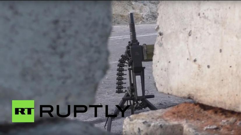 Попавший под обстрел в Донбассе стрингер RUPTLY: Мы слышали выстрелы из миномётов и гранатомётов