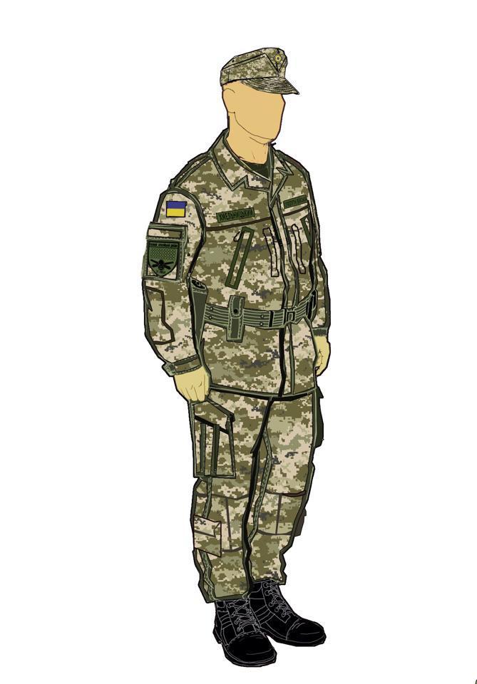 Украинские пользователи соцсетей в восторге от новой формы ВСУ, в которой появится головной убор УПА