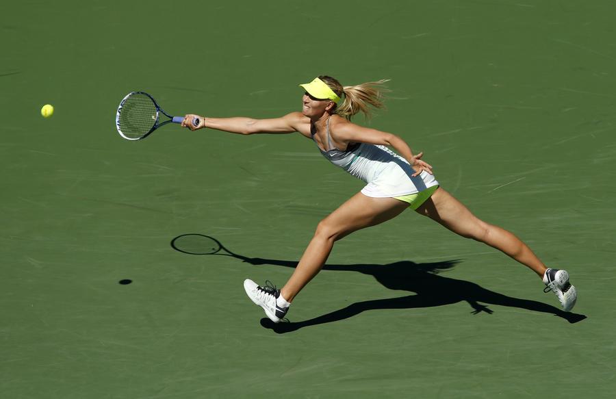 Мария Шарапова второй раз выиграла турнир в Индиан-Уэллсе