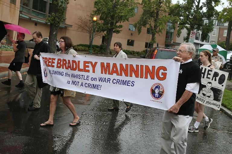 В Интернете появилась аудиозапись с заявлением Брэдли Мэннинга