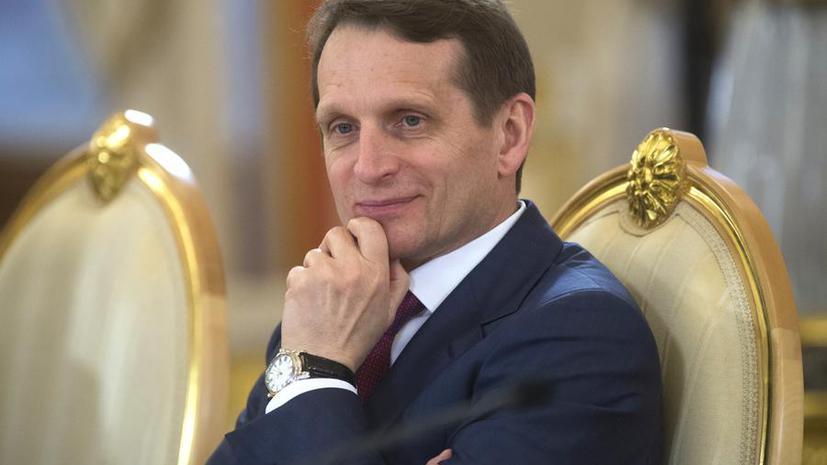 Сергей Нарышкин: При вхождении Крыма в РФ гарантии крымским татарам будут сохранены