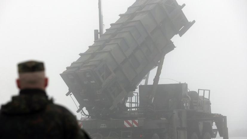 Генштаб РФ отслеживает ситуацию вокруг поставки «Пэтриот» в Турцию