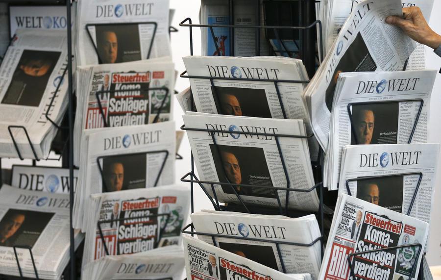 Экс-руководитель ZDF: Немецкие СМИ пишут по указанию сверху
