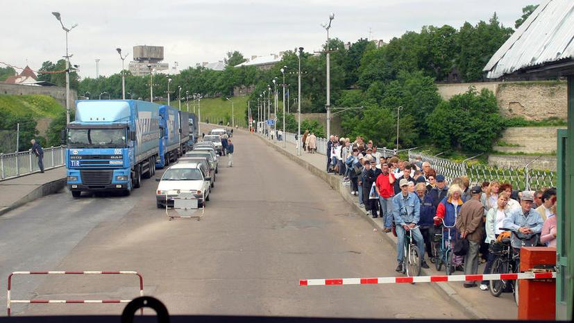 Эстония изменила правила ввоза товаров из России