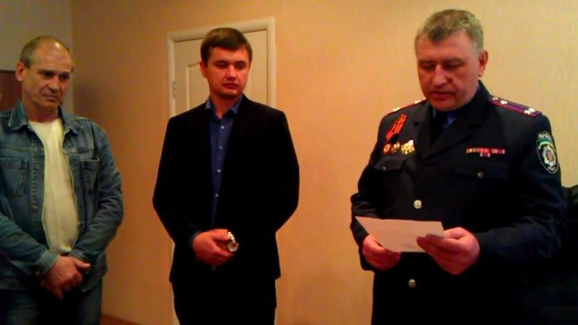 Начальник милиции Горловки заявил о переходе на сторону Донецкой республики
