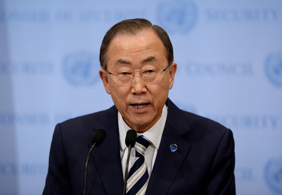 Пан Ги Мун предложил создать совместную миссию ООН и ОЗХО для уничтожения химоружия в Сирии