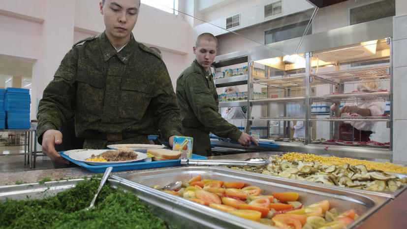 Чтобы получить питание, военнослужащим российской армии надо будет сдавать отпечатки пальцев