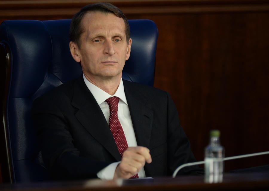 Сергей Нарышкин: Трещит по швам сама концепция Евросоюза