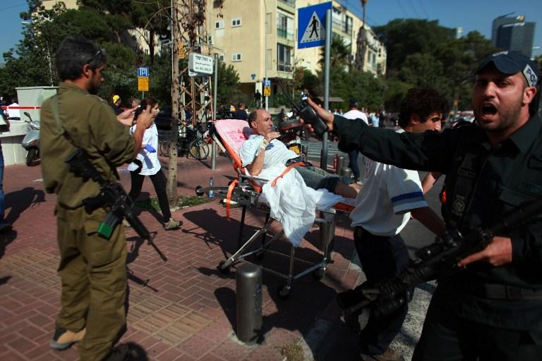 Израильский спецназ охотится за террористами в домах Тель-Авива