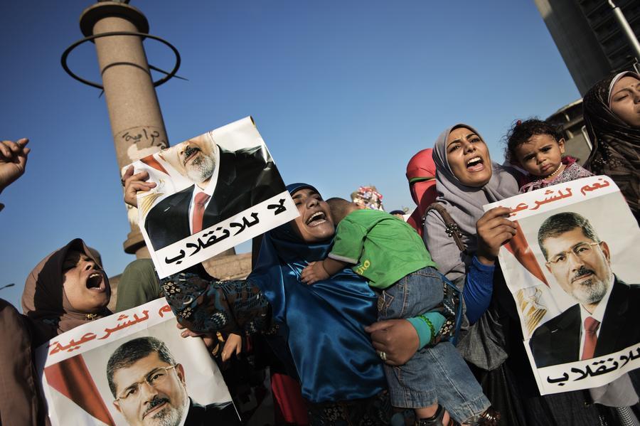 Египетские войска стянуты к площади Тахрир, чтобы её не захватили сторонники исламистов