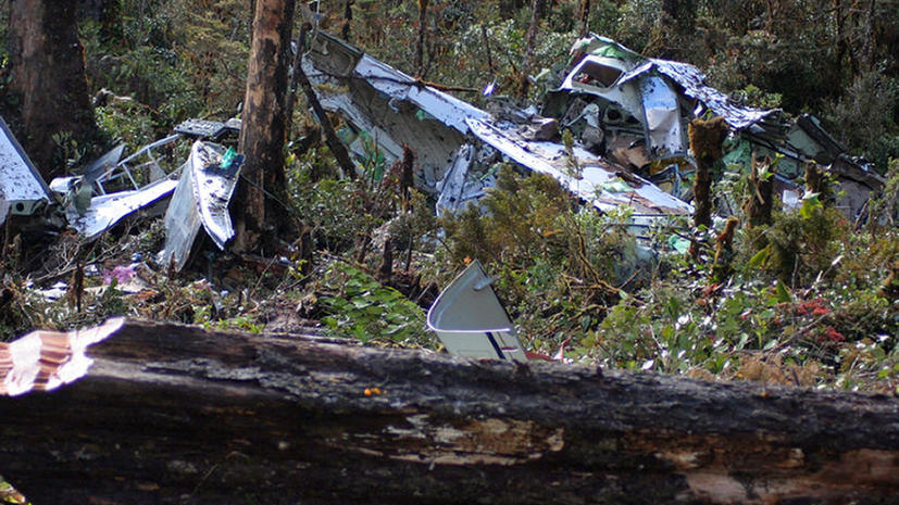 В результате крушения самолёта в Мексике погибли 4 человека