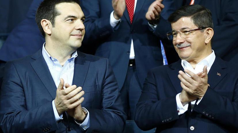 Греко-турецкая борьба: Алексис Ципрас напомнил Ахмету Давутоглу о плохом поведении ВВС Турции