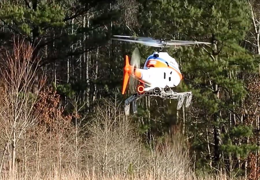 Американские изобретатели предложили оснастить вертолёты «ногами»  для посадки на склоны