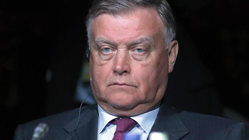 Глава РЖД выяснит, кто стоит за ложным сообщением о его отставке