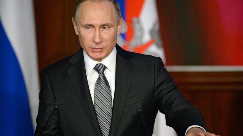 Владимир Путин распорядился создать оперативные штабы по борьбе с терроризмом в морских районах РФ