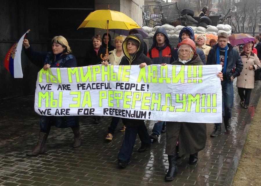 Ультиматум МВД Украины восточным областям страны истекает; власти готовы отдать приказ стрелять