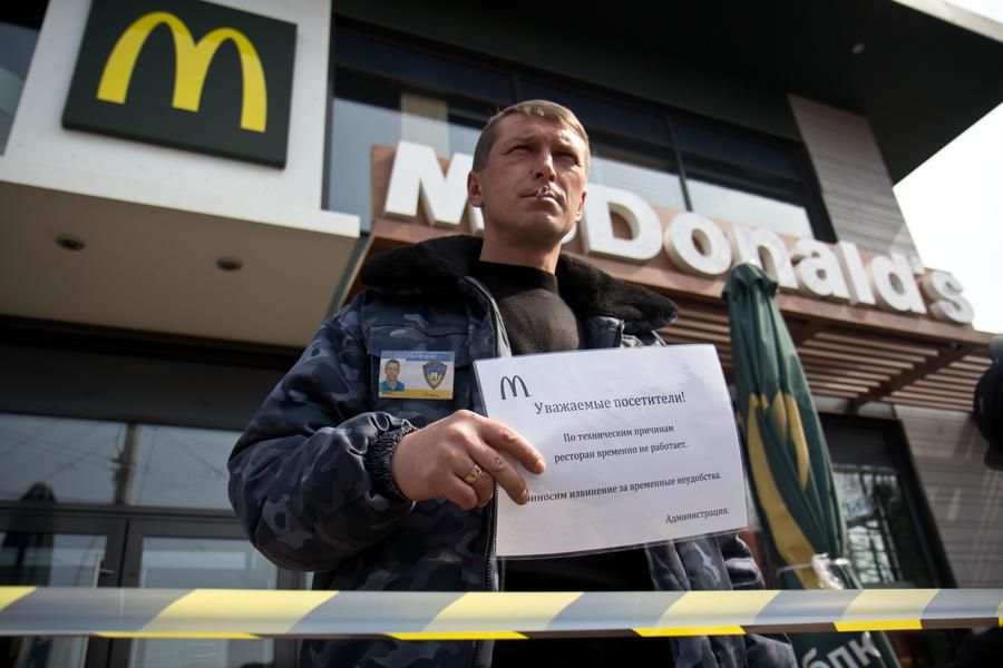 СМИ: McDonald's по всей России ждут масштабные проверки