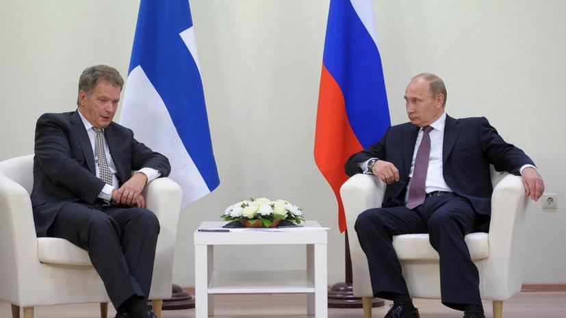 Президенты России и Финляндии сегодня проведут переговоры в Сочи