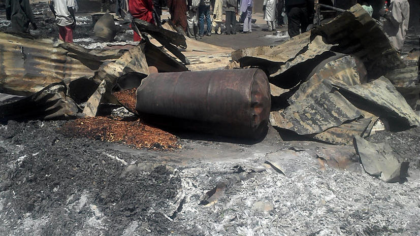 Атака исламистов на деревню в Нигерии: более ста погибших