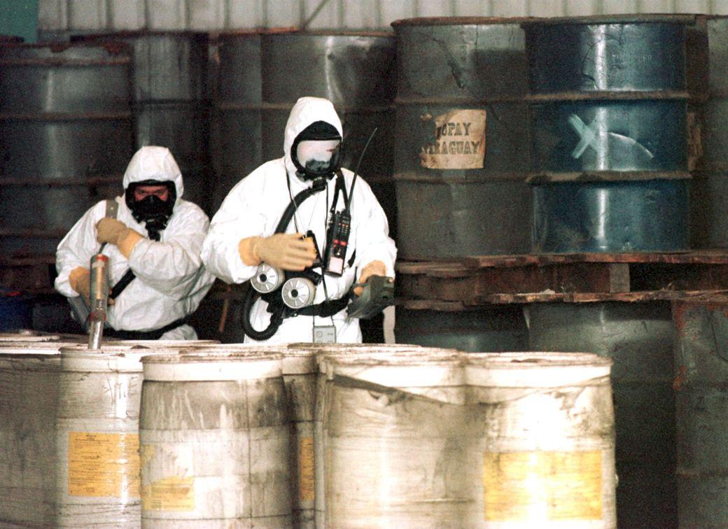 В Японии произошла утечка смертельных химикатов