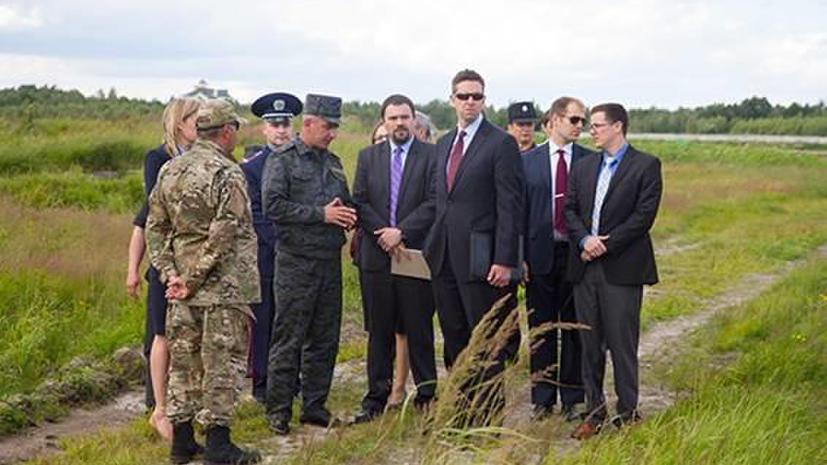 Госдеп США пообещал Нацгвардии Украины материальную и консультационную помощь