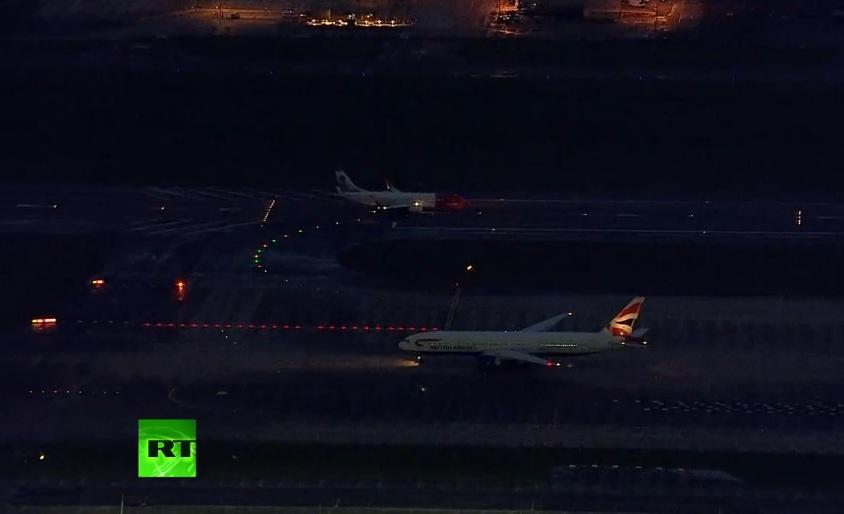 Коллапс в небе над Лондоном произошёл из-за сбоя в центре управления авиабезопасности