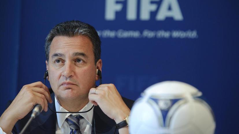 Чиновника FIFA могут не пустить в Россию