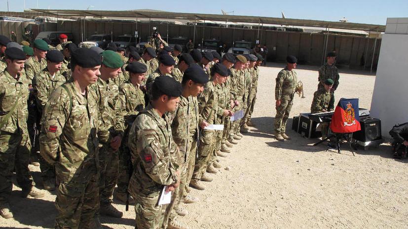 СМИ: На Минобороны Великобритании обрушился шквал критики из-за набора в армию слишком молодых солдат