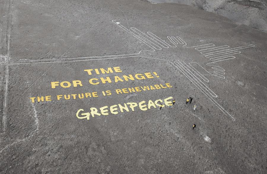 Исполнительный директор Greenpeace появился в суде по делу о причинении ущерба геоглифу в Перу