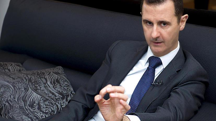 Башар Асад: Запад посылает в Сирию террористов с целью избавиться от них