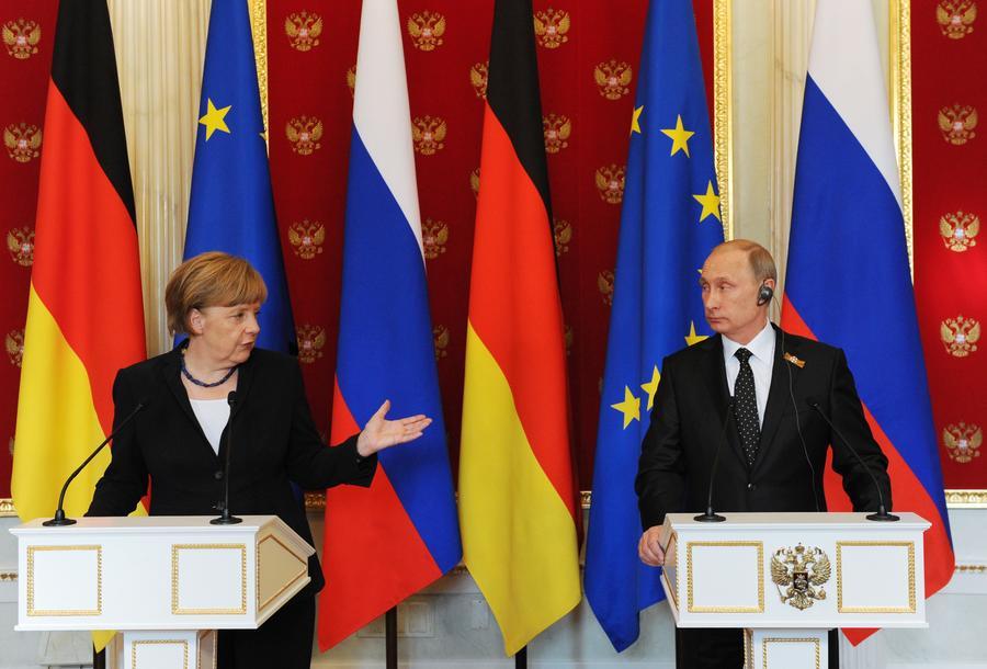 Ангела Меркель: Страны G7 поддерживают привлечение России для разрешения кризиса на Украине