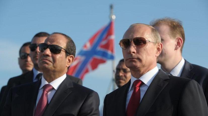 СМИ: Продажа оружия Египту придаст импульс российской оборонке