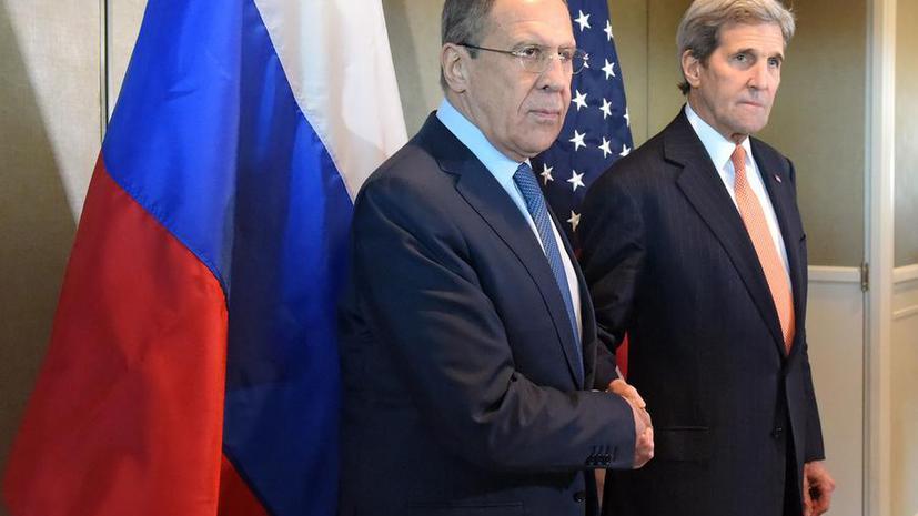 Джон Керри: Россия и США договорились создать систему проведения военных операций в Сирии
