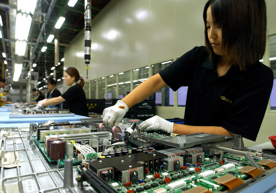 работа в кореи на заводе