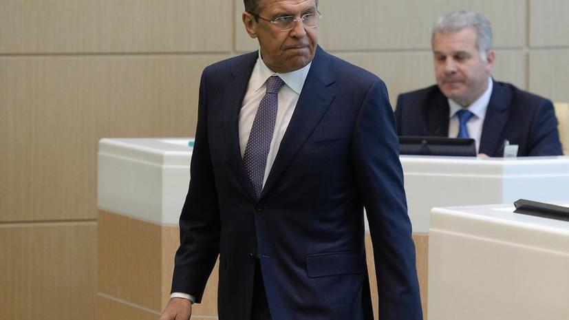 Сергей Лавров: РФ надеется на обеспечение максимальной защиты россиян, задержанных на Украине