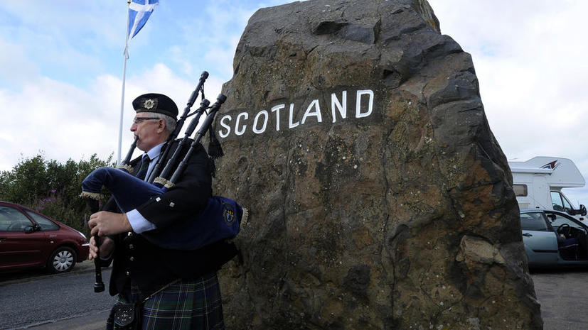 Лондон паникует в преддверии референдума о независимости Шотландии