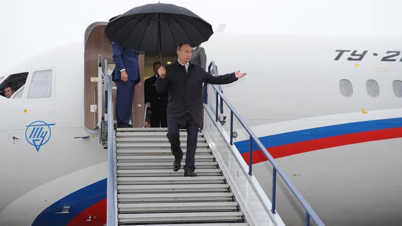 Владимир Путин: Между регионами РФ и соседними странами должна быть доброжелательная конкуренция