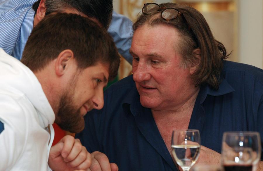 Жерар Депардье не будет играть роль Ахмата Кадырова