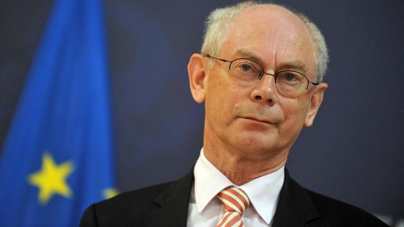 Председатель ЕС: Конфликт в Сирии невозможно урегулировать военным путём