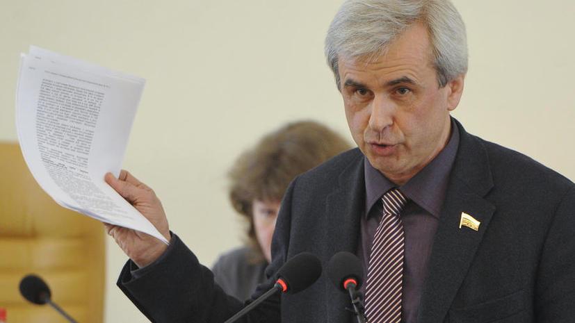 Депутат Вячеслав Лысаков подал в суд на Transparency International