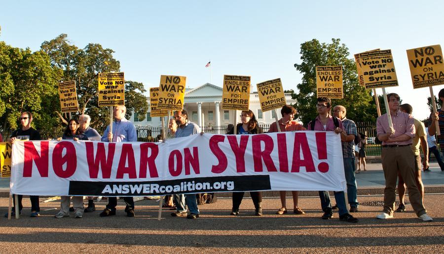 Пользователи соцсетей во всём мире выступают против начала операции в Сирии