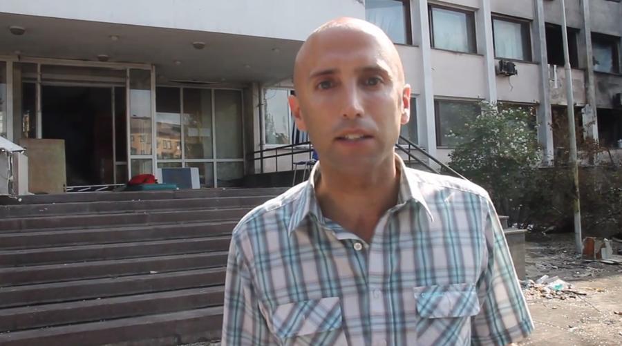 Стрингер RT Грэм Филлипс задержан на блокпосту в Мариуполе