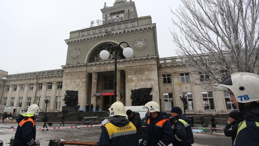 Год назад в здании вокзала Волгограда смертник привёл в действие взрывное устройство