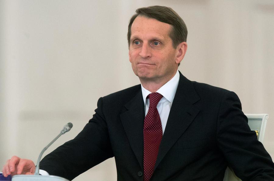 Сергей Нарышкин: В действия европейских политиков должен вернуться здравый смысл