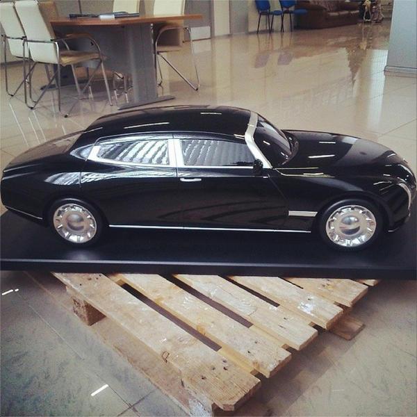 Проект «Кортеж»: в Instagram появились первые фото нового лимузина президента