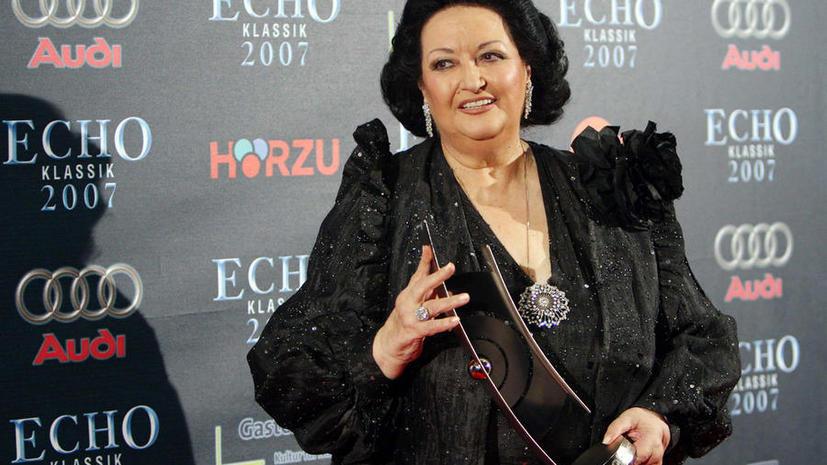 Монсеррат Кабалье задолжала €500 тыс. налогов