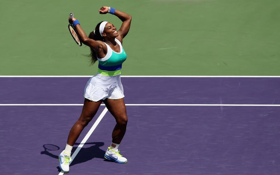 Американская теннисистка Серена Уильямс обошла Марию Шарапову в финале «Ролан Гарроса»