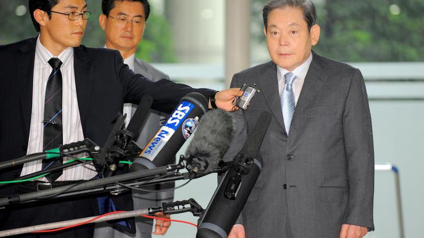 Глава Samsung попал в реанимацию