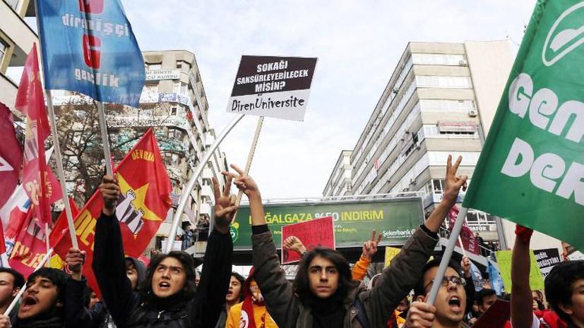 Спецслужбы Турции ведут слежку за тысячами иностранцев