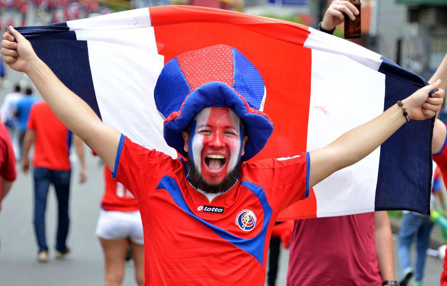 ЧМ-2014: сборная Коста-Рики досрочно вышла в 1/8 финала благодаря сенсационной победе над Италией